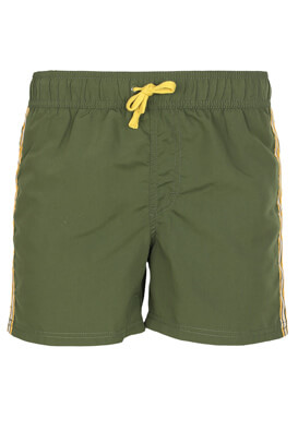 Pantaloni scurti de baie Kiabi David Dark Green