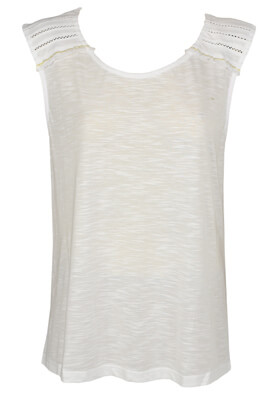 Tricou Emonite Laura White