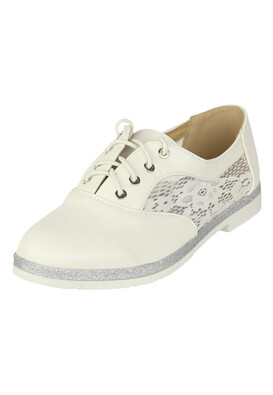 Pantofi Catisa Sabrina White
