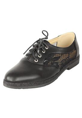 Pantofi Catisa Ivy Black