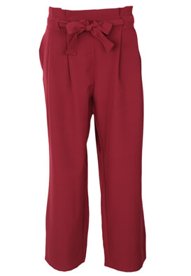 Pantaloni Jennyfer Nicole Dark Red