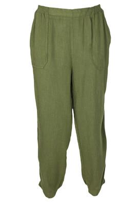 Pantaloni ZARA Georgia Dark Green