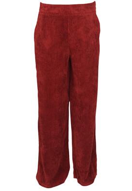 Pantaloni Stradivarius Taya Dark Red