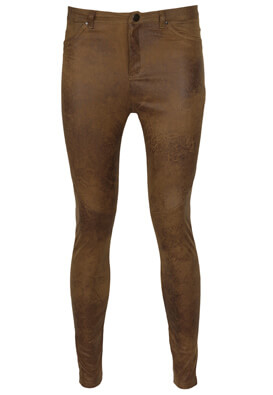 Pantaloni Stradivarius Kinga Brown