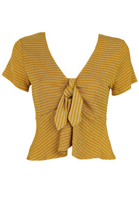 Tricou Lefties Georgia Dark Yellow