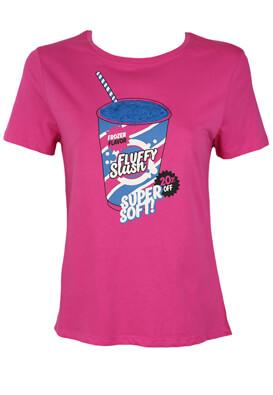 Tricou Lefties Keira Dark Pink