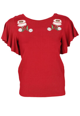 Tricou Orsay Daisy Red