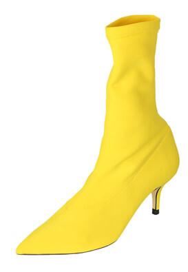 Botine ZARA Maya Yellow