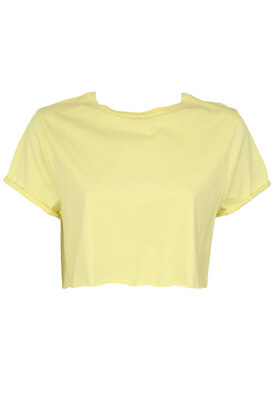 Tricou Pull and Bear Dina Yellow