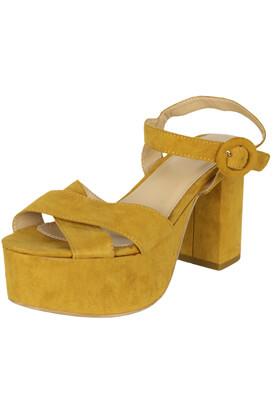 Sandale Lefties Louise Dark Yellow