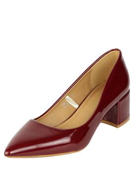 Pantofi Catisa Sabrina Dark Red
