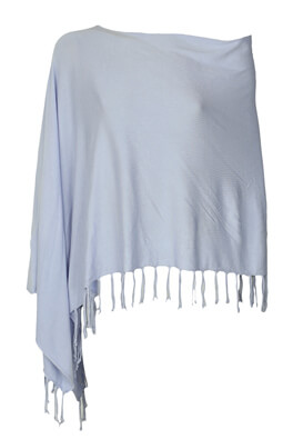 Poncho Orsay Yvette Light Blue