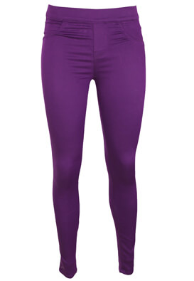 Pantaloni Lefties Pamela Purple