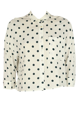 Camasa Pull and Bear Ramona White