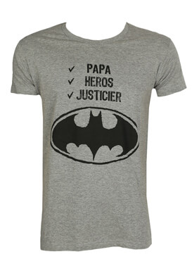 Tricou Kiabi Batman Grey