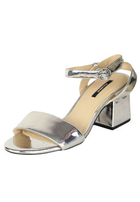 Sandale Pull and Bear Patricia Silver