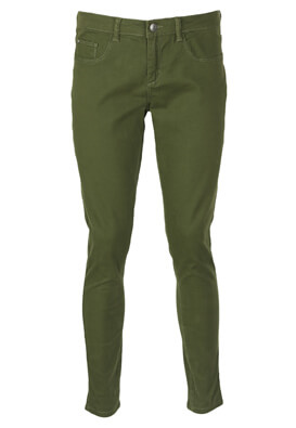 Pantaloni MO Fancy Dark Green