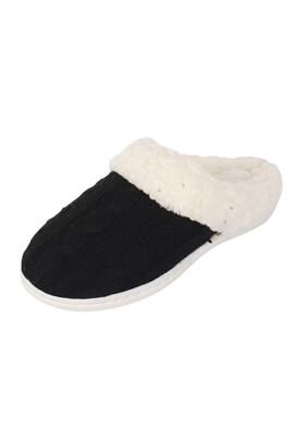 Papuci de casa MO Kara Black