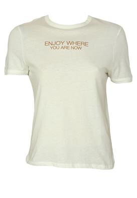 Tricou ZARA Mara White
