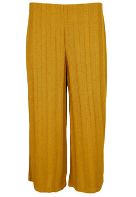 Pantaloni Pull and Bear Georgia Dark Yellow