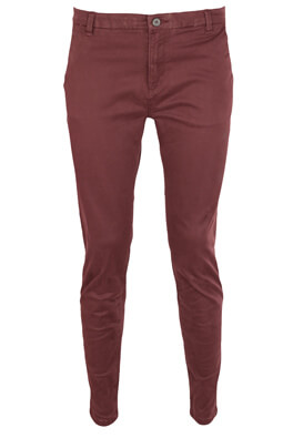 Pantaloni Pull and Bear Amelia Dark Purple
