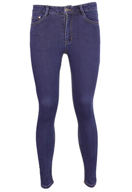 Blugi Pull and Bear Denise Dark Blue
