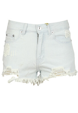 Pantaloni scurti Pull and Bear Dina Light Blue