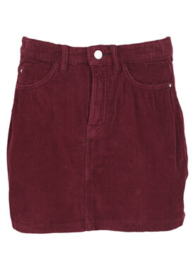 Fusta Bershka Amy Dark Purple