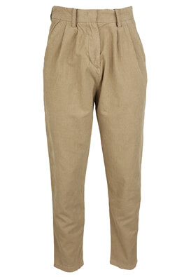 Pantaloni Lefties Evelyn Beige