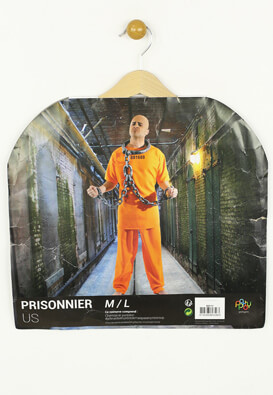 Set costum carnaval Party Pro Prisoner Orange