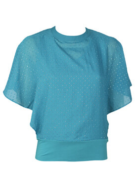 Tricou Orsay Jacky Turquoise