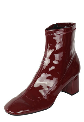 Botine ZARA Janet Dark Red