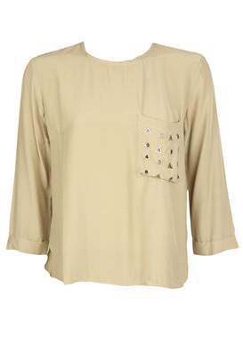 Bluza Stradivarius Stella Light Beige