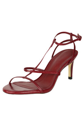 Sandale ZARA Taya Dark Red