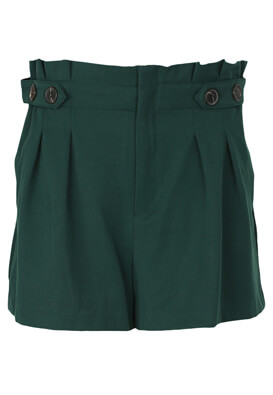 Pantaloni scurti ZARA Doreen Dark Green