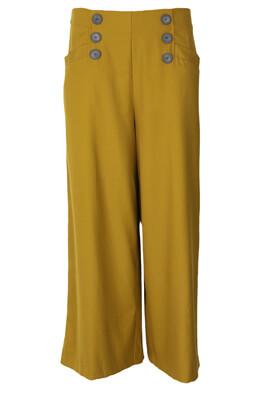 Pantaloni ZARA Michelle Dark Yellow