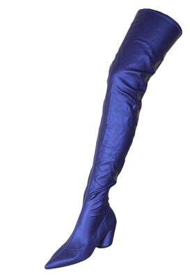 Cizme ZARA Ramona Blue