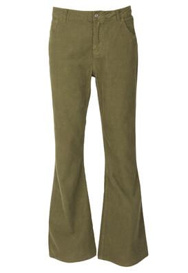 Pantaloni ZARA Petra Dark Green