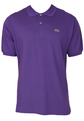Tricou polo Lacoste Carter Purple