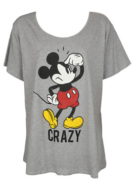 Tricou Cotton Division Mickey Mouse Colors