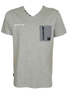 Tricou Dissident Dylan Grey