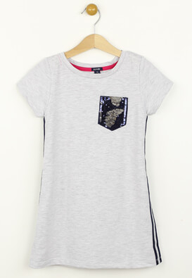 Tricou Kiabi Elle Light Grey