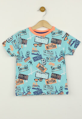 Tricou Kiabi Isaac Colors