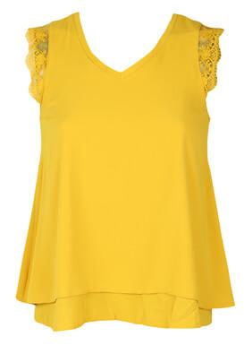 Tricou Cache Cache Abby Dark Yellow