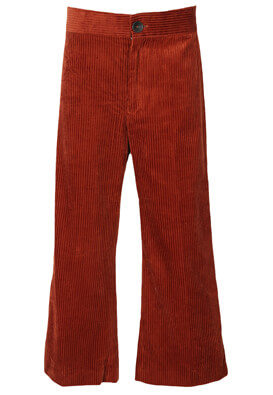 Pantaloni ZARA Georgia Dark Red