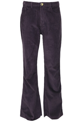 Pantaloni Stradivarius Helen Dark Purple