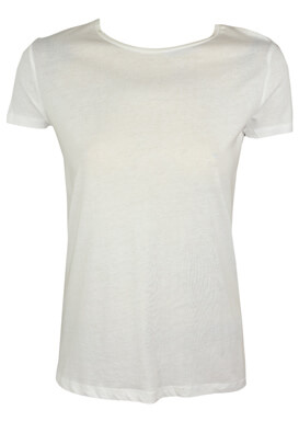 Tricou Pull and Bear Fay White