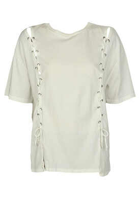 Tricou Pull and Bear Sabrina White
