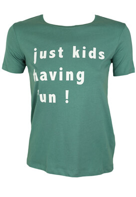 Tricou Pull and Bear Dollie Green