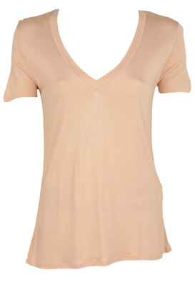 Tricou Pull and Bear Francine Light Pink